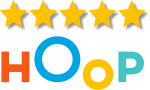 5* reviews on HOOP